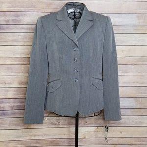 NWT Tahari gray 8P blazer